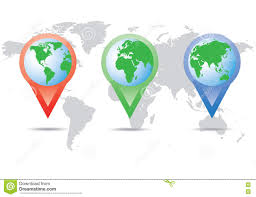 Map Location World Map Location Stock Vector Image 74749969