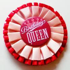 birthday girl pin easy button badge remakes cathe holden s inspired barn