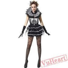 halloween skull costume women vampire costume demon costume