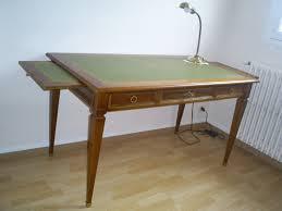 bureau style directoire mobilier bureau noyer dessus cuir style directoire