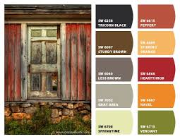 historic farm color palette inspiration chip it by sherwin