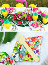 flamingos u0026 pineapples summer birthday joint party hostess