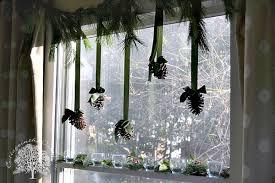 simple window decor cottage in the oaks