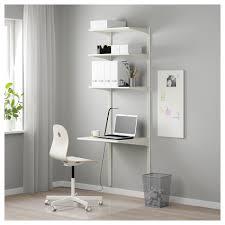 algot wall upright shelves white 66x61x197 cm ikea