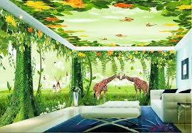 wallpaper 3d for house 3d fantacy wonderland tree house wall murals wallpaper decals art