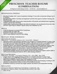 Example Resumes For Teachers by Combination Resume Samples U0026 Writing Guide Rg