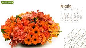 November Flowers Freebie Friday Free Hd November 2012 Desktop Calendar Wallpapers