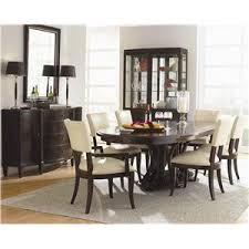 Bernhardt Dining Room Chairs Bernhardt Westwood Contemporary Nine Drawer Dresser And Beveled