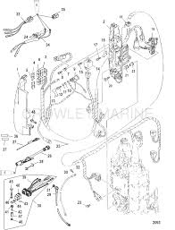 mercury 115 four stroke parts and diagram mercury outboard parts