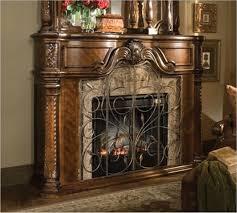 furniture astonishing natural stone electric fireplace mantel 1 l