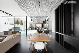 interior design concept click linear screening aluminium