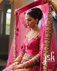wedding chunni this jumbo bun is a great indian wedding hairstyle because it