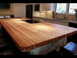 butcher block table designs ideas for butcher block table tops youtube