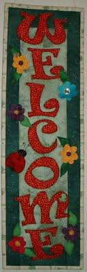 birds of a feather quilted wall hanging pattern leaves bird and