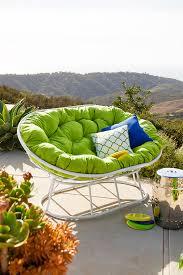 cabana citrus double papasan cushion cabana indoor and fabrics