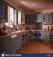 Country Home Interior Design Cool Grey Country Kitchen For Home Interior Design Ideas With Grey