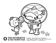 octonauts coloring pages octonauts printable activity coloring pages fishy under the sea