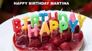 martini birthday wishes martina cakes pasteles happy birthday youtube