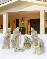 outdoor nativity set outdoor nativity set balsam hill