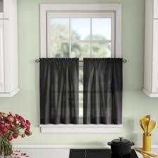 Kitchen Tier Curtains Cafe Curtains You U0027ll Love Wayfair