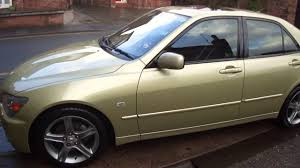 lexus is200 wheels ebay lexus is200 2 0 se for sale automatic one off youtube