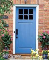 Build Exterior Door Frame How To Replace An Exterior Door Family Handyman