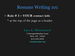 Dos And Donts Of Resume The Do U0027s And Don U0027ts Of Resumes
