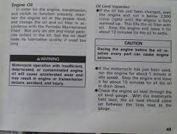 measuring proper oil level zx forums