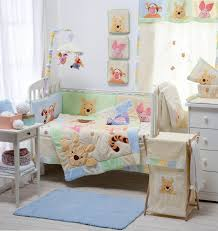 Crib Bedding Sets Bedding Sets Hiding Pooh Crib Bedding Collection 4 Pc Crib Bedding