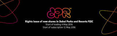 Six Flags Investors Rights Issue Of New Shares In Dubai Parks And Resorts Pjsc