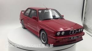Bmw M3 Sport - otto model 1 12 bmw e30 m3 sport evo red g033 youtube