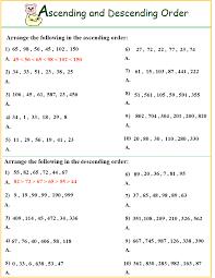 best solutions of ascending descending order worksheets also