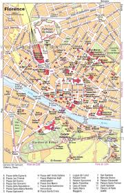 Map Of Florence Italy 취미 U003e 여행 U003e Florence Tourist Map