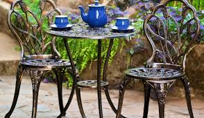 Cast Iron Bistro Chairs Furniture Cast Patio Furniture Extraordinary Cast Iron Patio