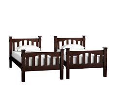 kendall twin over twin bunk bed pottery barn kids