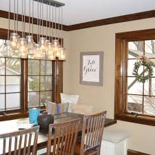 farmhouse dining room lighting and modern home interior design
