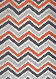 Indoor Area Rugs by Contemporary Modern Grey With Orange Indoor Area Rug Rug Addiction