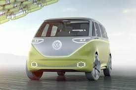 green volkswagen van volkswagen i d buzz concept vw u0027s electric push continues at