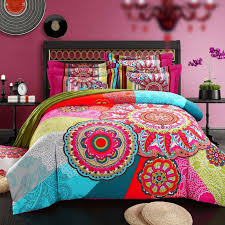 Tribal Print Bedding Bedding Magnificent Bohemian Bedding Sets 61oriil3hfljpg