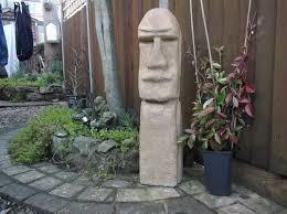 garden statue easter island in pontnewynydd torfaen gumtree