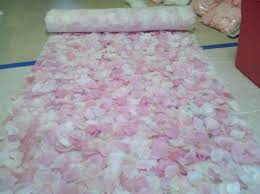 petal aisle runner make your own petal runners use spray adhesive buy flowers at