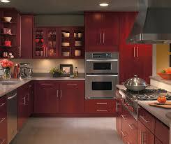 Modern Cherry Kitchen Cabinets Contemporary Kitchens J B Kitchens Baths U0026 Design Inc