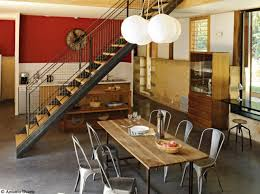 deco cuisine salle a manger des salles à manger très déco lofts industrial chic and salons
