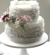 wedding cake auckland frilled wedding cake roses sugar flowers wedding cake auckland