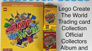 lego create the world trading card collection official collectors