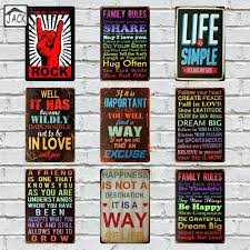 Vintage Home Decor Nz Wall Ideas 1 Pc Diy Wall Stickers Stairs Decal House Rules Home