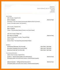 Microsoft 2007 Resume Templates 13 Microsoft Word 2007 Resume Templates Informal Letters