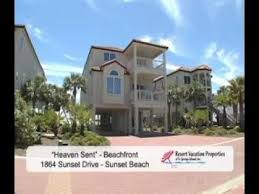 St George Island Cottage Rentals by Heaven Sent Vacation Rental Home In Sunset Beach On St George
