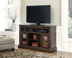 Fireplace Entertainment Stand by Amazon Com Ashley North Shore W553 68 60 U0026quot Large Tv Stand