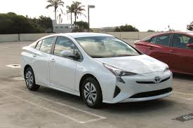 toyota white car 2016 toyota prius first drive news cars com